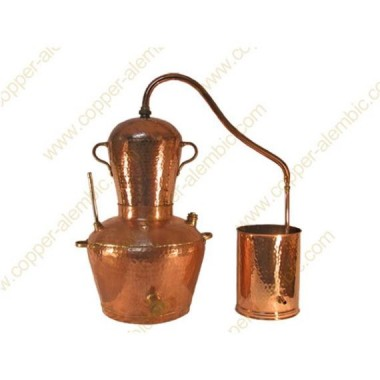 30 L Kupfer-Destillierkolben Wasserbad
