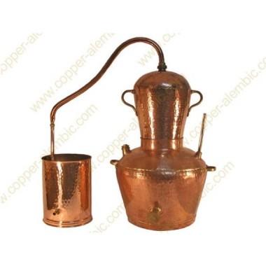 60 L Kupfer-Destillierkolben Wasserbad