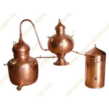 100 L Charentais Copper Alembic Still Premium