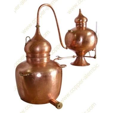 100 L Kupfer-Destillierkolben Charentais Premium