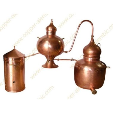 200 L Kupfer-Destillierkolben Charentais Premium