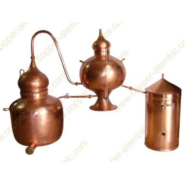 300 L Kupfer-Destillierkolben Charentais Premium