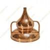 250 L Kupfer-Destillierkolben Wasserdichtsystem Premium