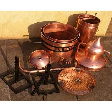 350 L Premium Destillierkolben mit Wasserdichtsystem