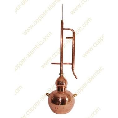 10 L Kupfer-Destillierkolben Rücklaufsystem