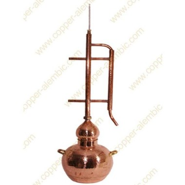30 L Kupfer-Destillierkolben Rücklaufsystem