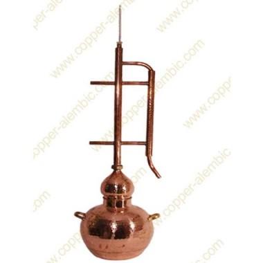 60 L Kupfer-Destillierkolben Rückflusssystem