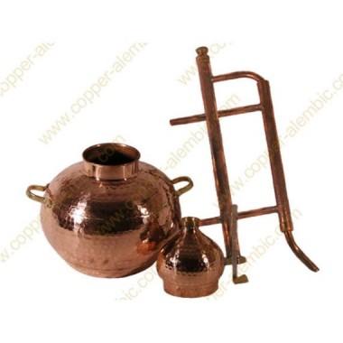 100 L Kupfer-Destillierkolben Rückflusssystem