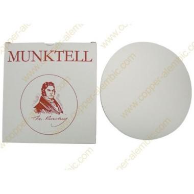 25 Filtres Circulaires en Papier, Diamètre 120 mm
