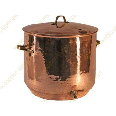 45 L Brautopf aus Kupfer