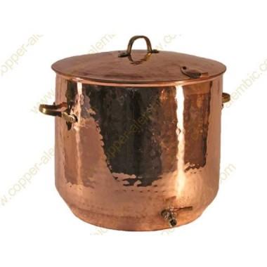 45 L Copper Brew Pot
