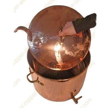 45 L Complete Copper Brew Pot System