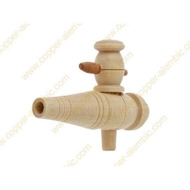 Wasserhahn aus Holz für mehr als 50 L