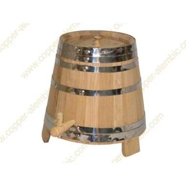 5 L Weinbottich aus französischer Eiche