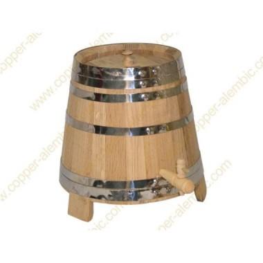 10 L Weinbottich aus französischer Eiche