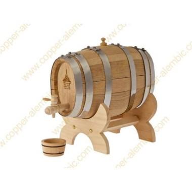 10 L Oval French Oak Cask