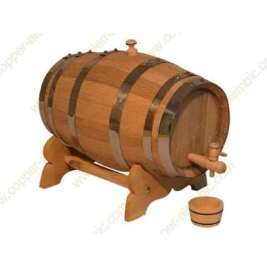 3 L Port Wine Seasoned French Oak Barrel