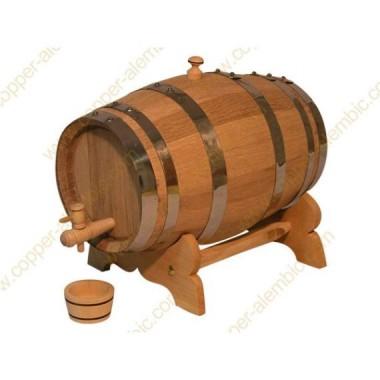 5 L Port Wine Seasoned French Oak Barrel
