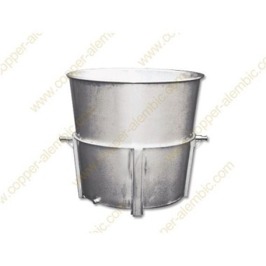 1000 L Reinforced Conical Holding Vats