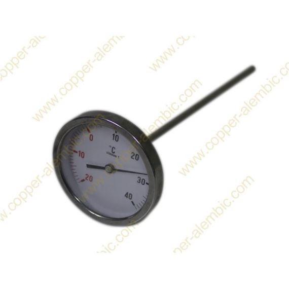 Termómetro de Aço Inox