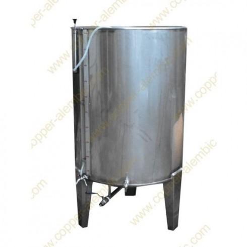 Pneumatischer 300 L Tank mit Ventil ohne Kühlungsmantel
