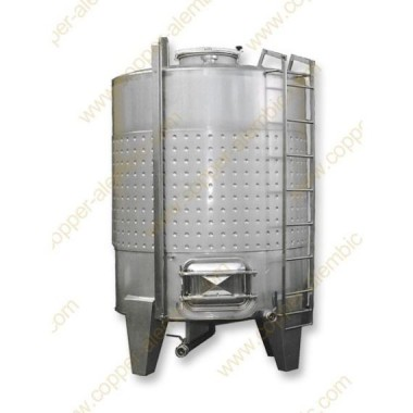 4000 L Tank mit Gärungsmantel