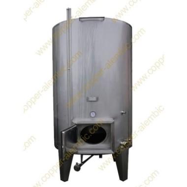 7500 L Isothermal Vats