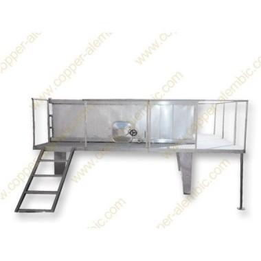 2100 L Rectangular Fermentation Vats