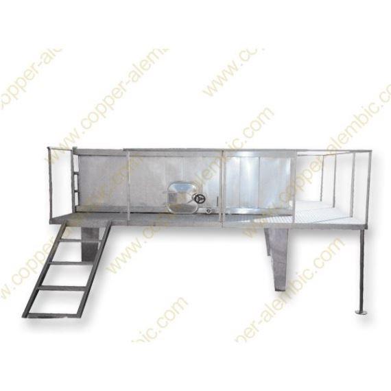 5250 L Rectangular Fermentation Vats