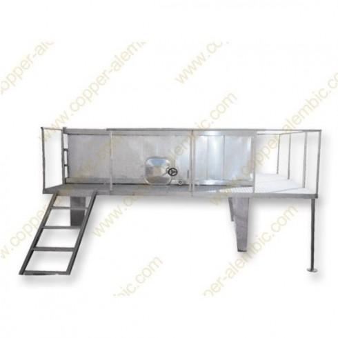 8750 L Cuve de Fermentation Rectangulaire