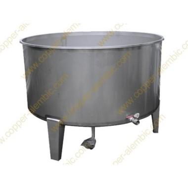 1500 L Round Fermentation Vats