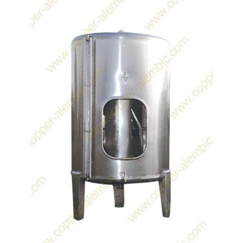 2500 L Conical Bottom Stainless Steel Vats