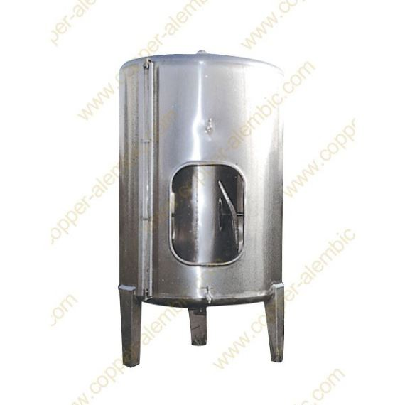 10000 L Conical Bottom Stainless Steel Vats