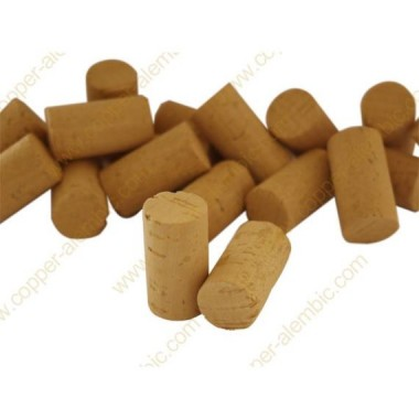 250x Natural Colmated Cork 3rd 38 x 24 mm
