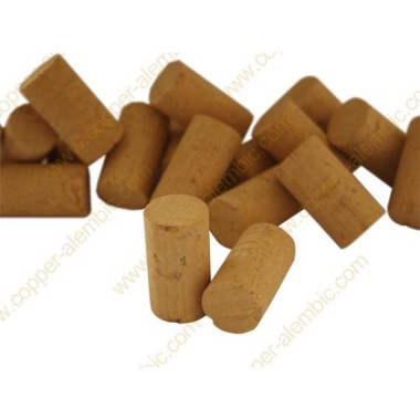 1000x Natural Colmated Cork 4th 49 x 24 mm