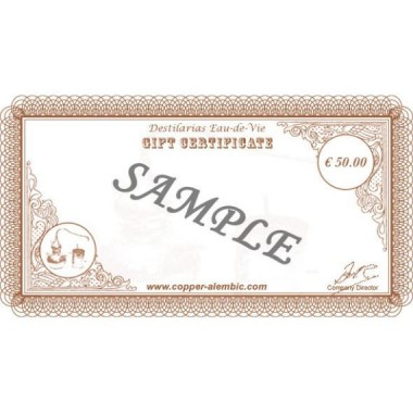 50 € Gift Certificate