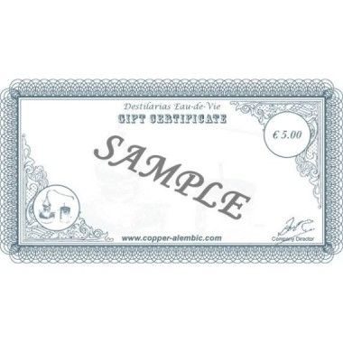 5 € Gift Certificate