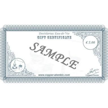 Chèque-Cadeau de 5 €
