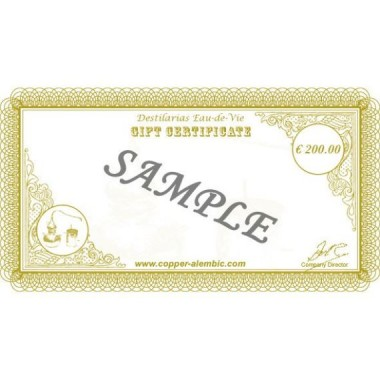 200 € Gift Certificate