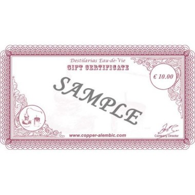 Chèque-Cadeau de 10 €