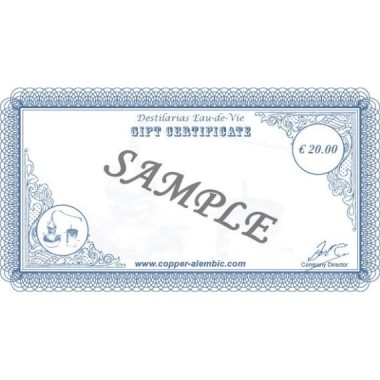 20 € Gift Certificate