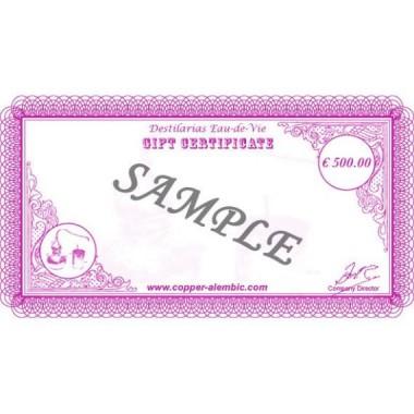 500 € Geschenkgutschein