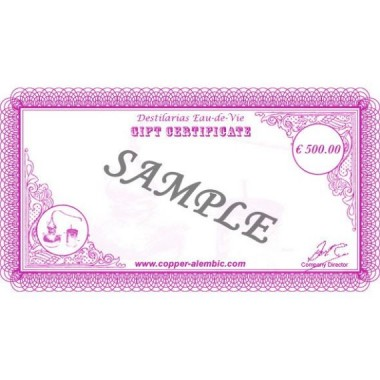 500 € Gift Certificate