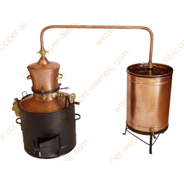 60 L State of the Art Copper Alembic Still Deluxe