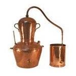 Bain Marie Copper Alembic Stills