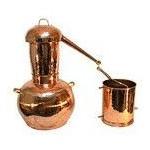 Kupfer-Destillierkolben Arabischer Helmstil