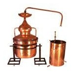 Water Sealing Copper Alembic Still Systems