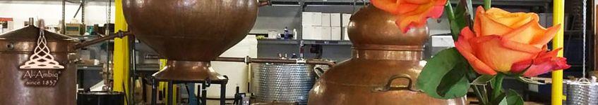 Kupfer-Destillierkolben Charentais