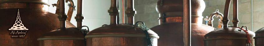 Kupfer-Destillierkolben Whiskey